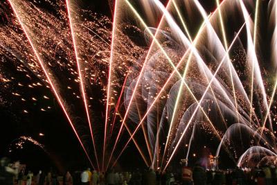 とっておき冬花火大会&冬のよさこいソーズラ祭り